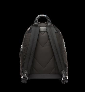MCM Stark Classic Backpack in Monogram Nylon MUK7ADT10BK001 AlternateView4