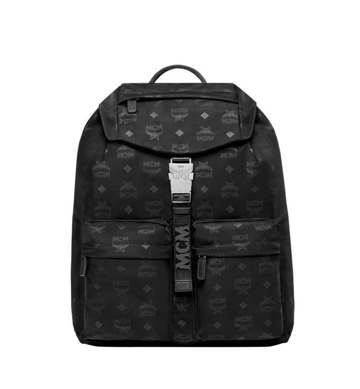 MCM Kreuzberg Rucksack in Monogram Nylon MUK7ADT19BK001 AlternateView