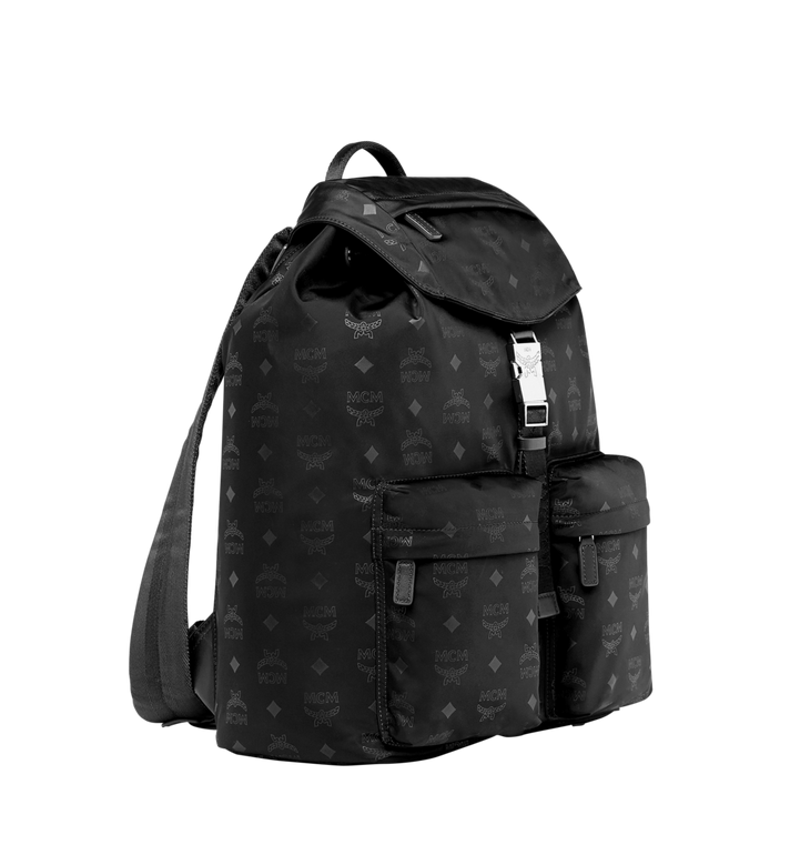 MCM Kreuzberg Rucksack in Monogram Nylon MUK7ADT19BK001 AlternateView2