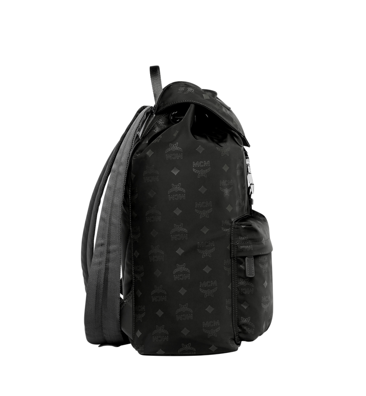 MCM Kreuzberg Rucksack in Monogram Nylon MUK7ADT19BK001 AlternateView3