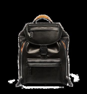 MCM Killian Backpack in Lambskin Leather MUK7SKB01BK001 AlternateView2
