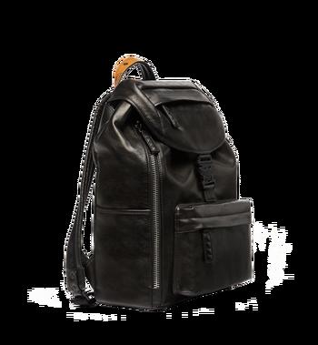 MCM Killian Backpack in Lambskin Leather MUK7SKB01BK001 AlternateView3