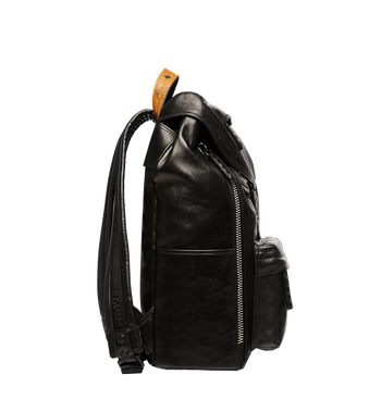 MCM Killian Backpack in Lambskin Leather MUK7SKB01BK001 AlternateView5