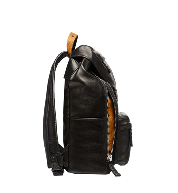 MCM Killian Backpack in Lambskin Leather MUK7SKB01BK001 AlternateView6