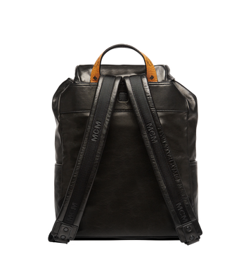MCM Killian Backpack in Lambskin Leather MUK7SKB01BK001 AlternateView7