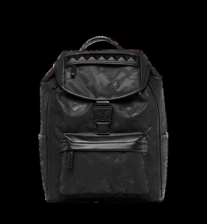 MCM Killian Backpack in Textured Camo Nylon MUK8ADT61BK001 AlternateView