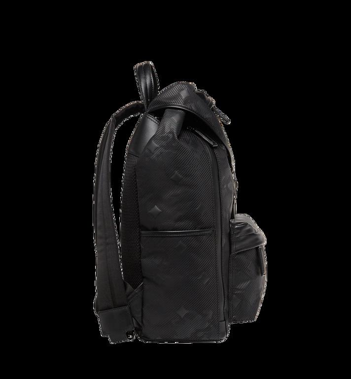 MCM Killian Backpack in Textured Camo Nylon MUK8ADT61BK001 AlternateView5