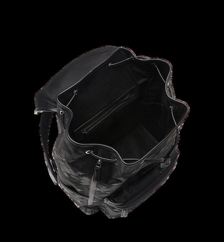 MCM Killian Backpack in Textured Camo Nylon MUK8ADT61BK001 AlternateView7