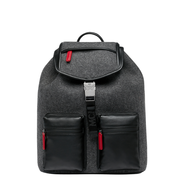 MCM Stadt Backpack in Loden MUK8ASD09EP001 AlternateView