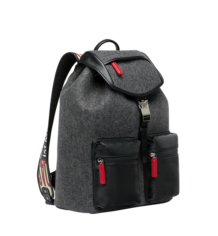 MCM Stadt Backpack in Loden MUK8ASD09EP001 AlternateView2