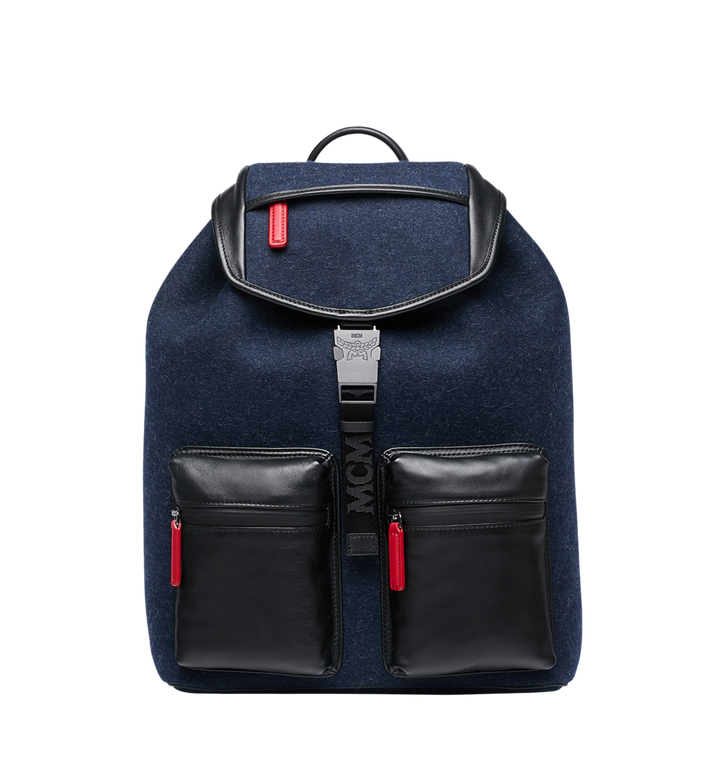 MCM Stadt Rucksack in Loden MUK8ASD09VY001 AlternateView
