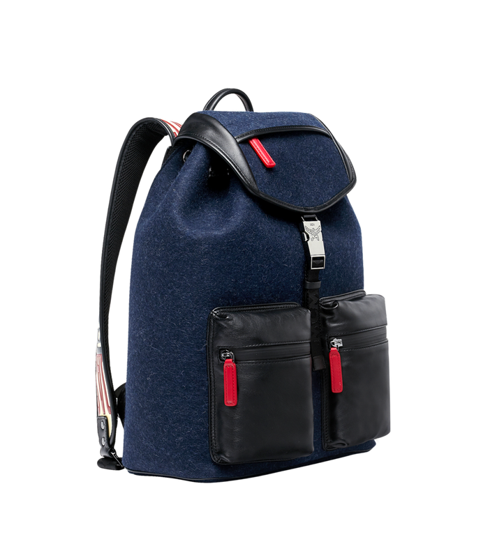 MCM Stadt Rucksack in Loden MUK8ASD09VY001 AlternateView2