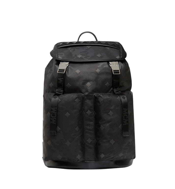 MCM Dieter Backpack in Lion Camo Nylon MUK8SDT72BK001 AlternateView