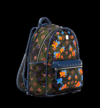 MCM Dieter Backpack in Floral Camo Nylon MUK8SDT76GX001 AlternateView2