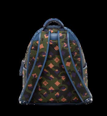 MCM Dieter Backpack in Floral Camo Nylon MUK8SDT76GX001 AlternateView4