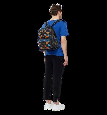 MCM Dieter Backpack in Floral Camo Nylon MUK8SDT76GX001 AlternateView6