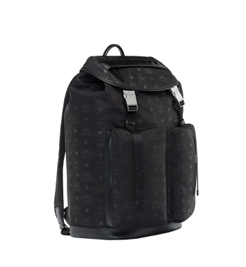 MCM Kreuzberg Backpack in Monogram Nylon MUK8SDT77BK001 AlternateView2