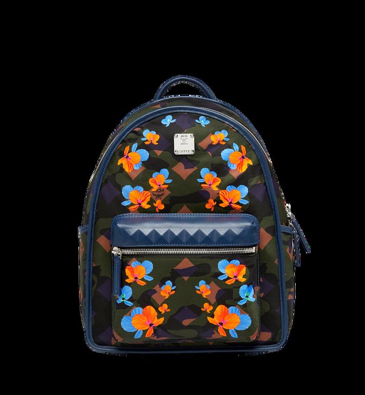 MCM Dieter Backpack in Floral Camo Nylon MUK8SDT83GX001 AlternateView