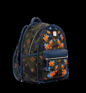 MCM Dieter Backpack in Floral Camo Nylon MUK8SDT83GX001 AlternateView2