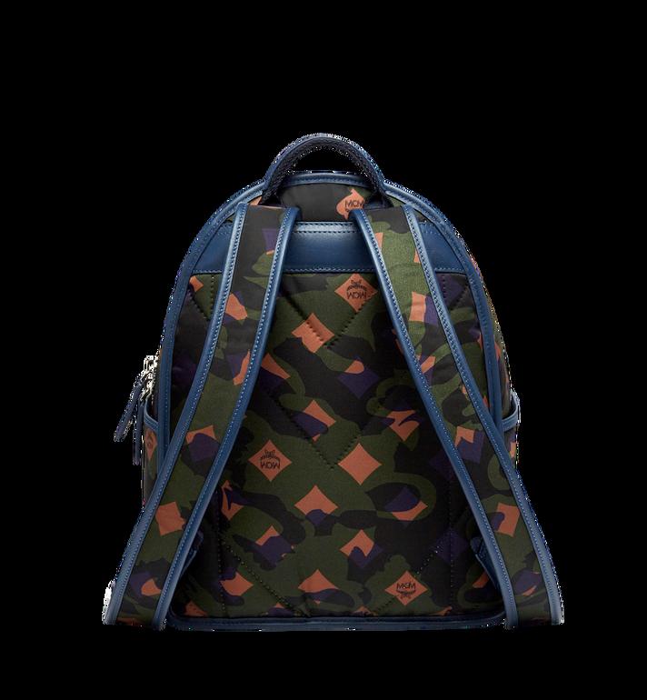 MCM Dieter Backpack in Floral Camo Nylon MUK8SDT83GX001 AlternateView4