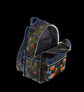 MCM Dieter Backpack in Floral Camo Nylon MUK8SDT83GX001 AlternateView5