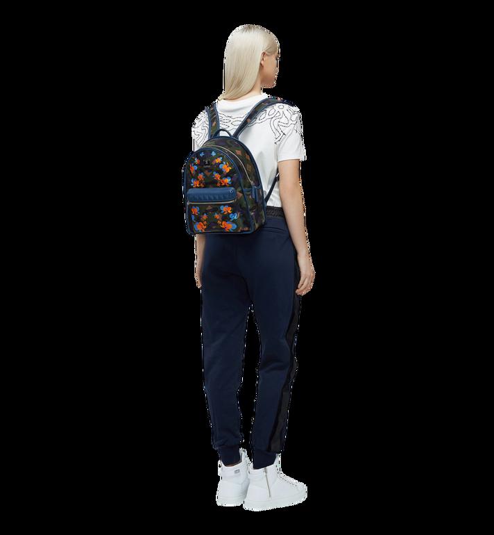 MCM Dieter Backpack in Floral Camo Nylon MUK8SDT83GX001 AlternateView6