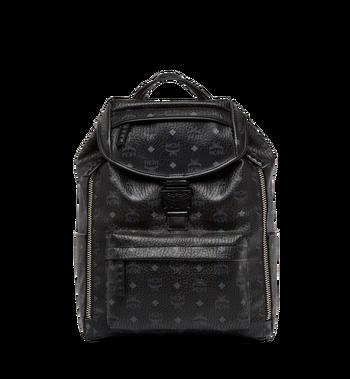 MCM Killian Backpack in Visetos MUK8SKB09BK001 AlternateView