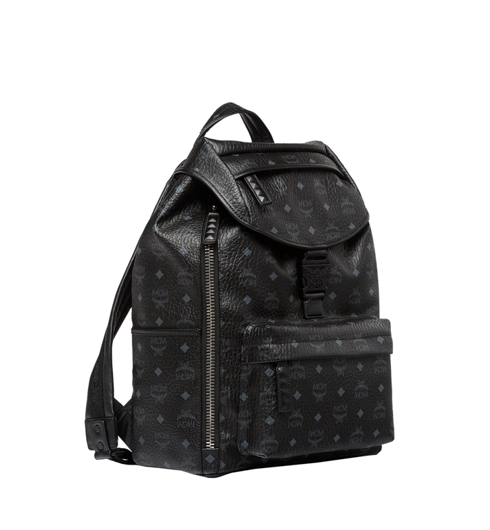 MCM Killian Rucksack in Visetos MUK8SKB09BK001 AlternateView2