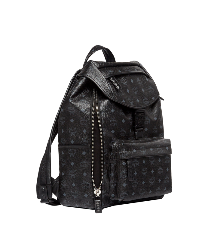 MCM Killian Rucksack in Visetos MUK8SKB09BK001 AlternateView3