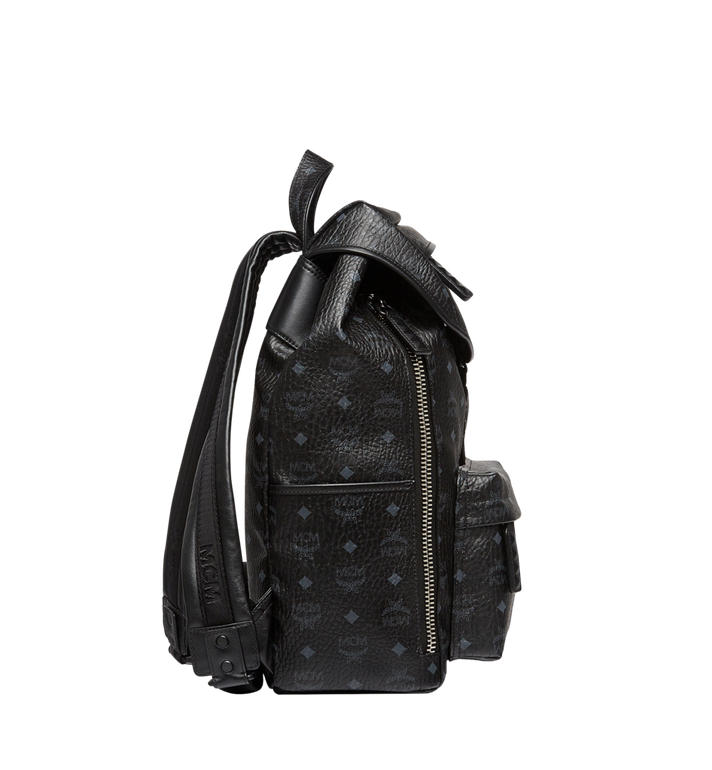 MCM Killian Rucksack in Visetos MUK8SKB09BK001 AlternateView4