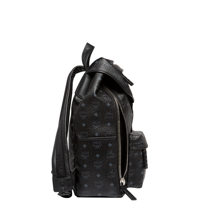 MCM Killian Backpack in Visetos MUK8SKB09BK001 AlternateView5