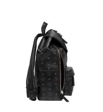 MCM Killian Backpack in Visetos MUK8SKB09BK001 AlternateView5