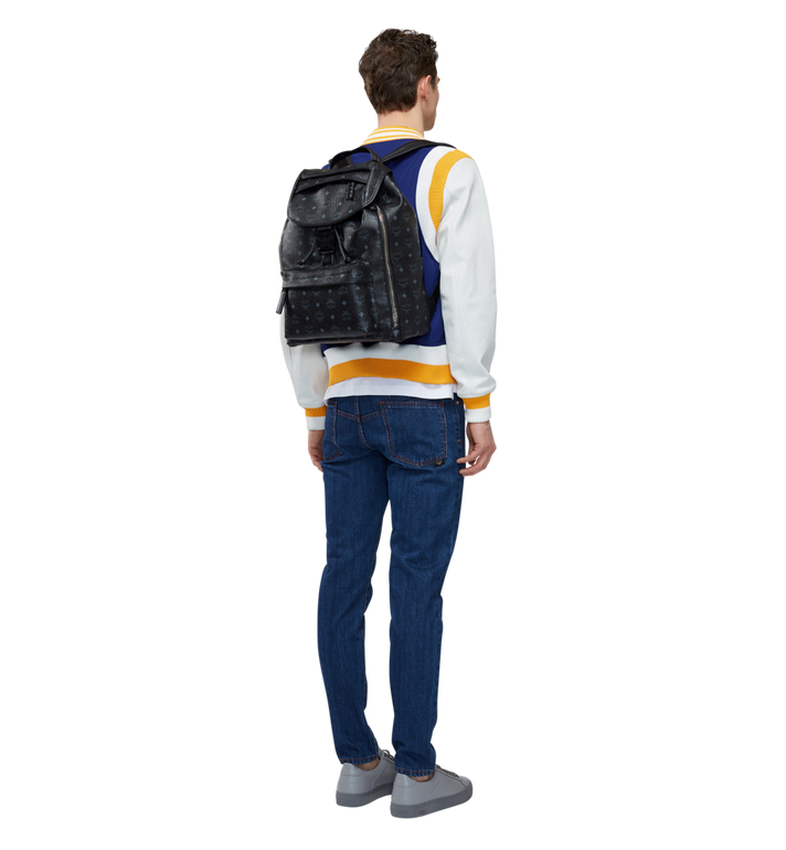 MCM Killian Rucksack in Visetos MUK8SKB09BK001 AlternateView6