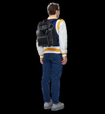 MCM Killian Backpack in Visetos MUK8SKB09BK001 AlternateView6