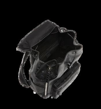 MCM Killian Backpack in Visetos MUK8SKB09BK001 AlternateView7