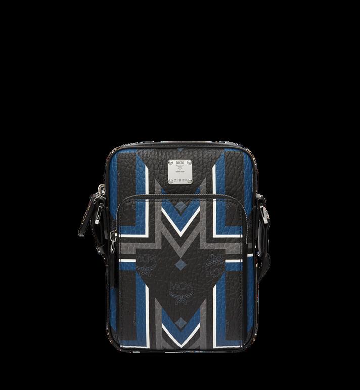 MCM Traveler Messenger in Gunta M Stripe Visetos MUR8SVY09BK001 AlternateView