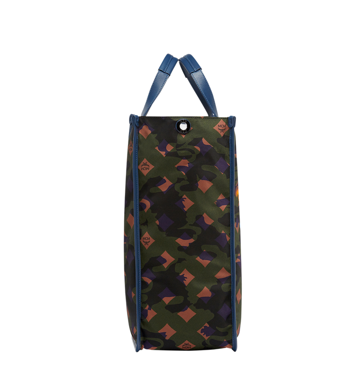 MCM Dieter Tote in Floral Camo Nylon MUT8SDT84GX001 AlternateView3
