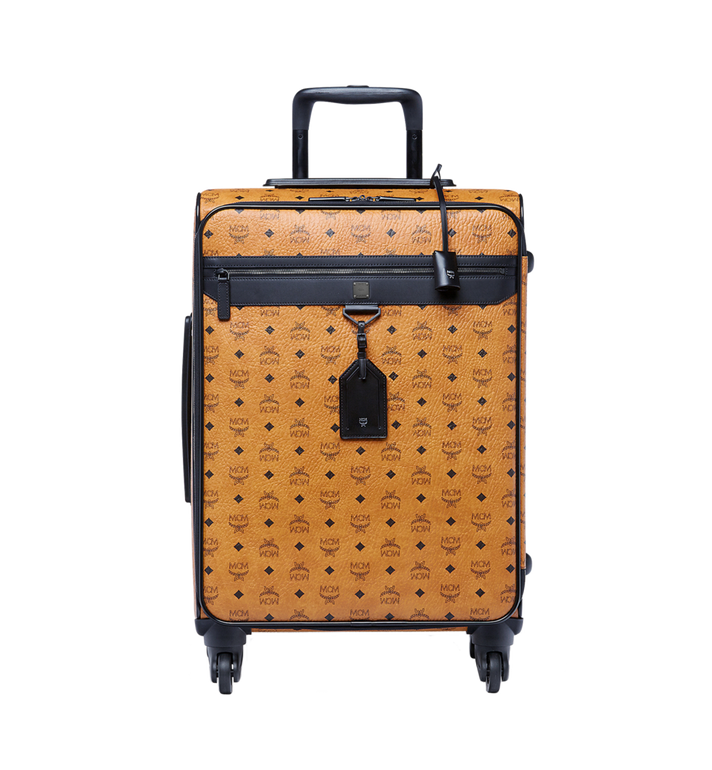 MCM Traveler Cabin Trolley in Visetos MUV6AHE13CO001 AlternateView