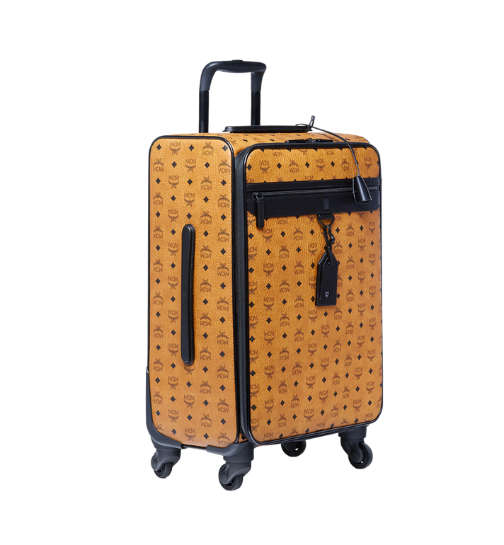 MCM Traveler Cabin Trolley in Visetos MUV6AHE13CO001 AlternateView2