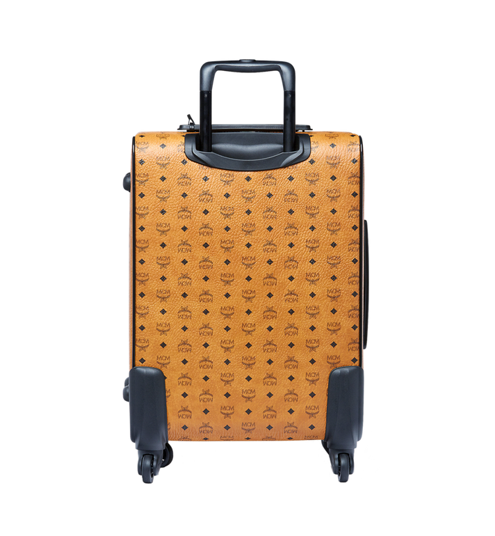 MCM Traveler Cabin Trolley in Visetos MUV6AHE13CO001 AlternateView4