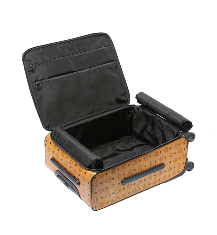 MCM Traveler Cabin Trolley in Visetos MUV6AHE13CO001 AlternateView5