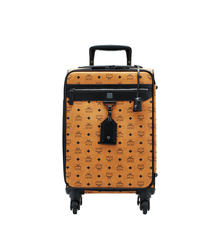 MCM Sac à roulettes pour cabine Traveler en Visetos MUV6SHE14CO001 AlternateView