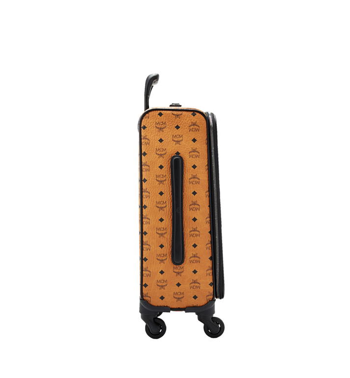 MCM Sac à roulettes pour cabine Traveler en Visetos MUV6SHE14CO001 AlternateView3