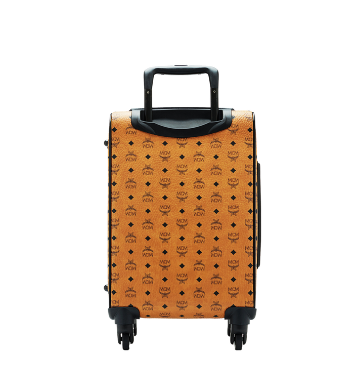 MCM Sac à roulettes pour cabine Traveler en Visetos MUV6SHE14CO001 AlternateView4