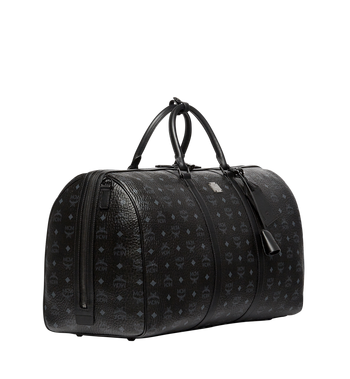 MCM Traveler Weekender in Visetos MUV7AVY01BK001 AlternateView2