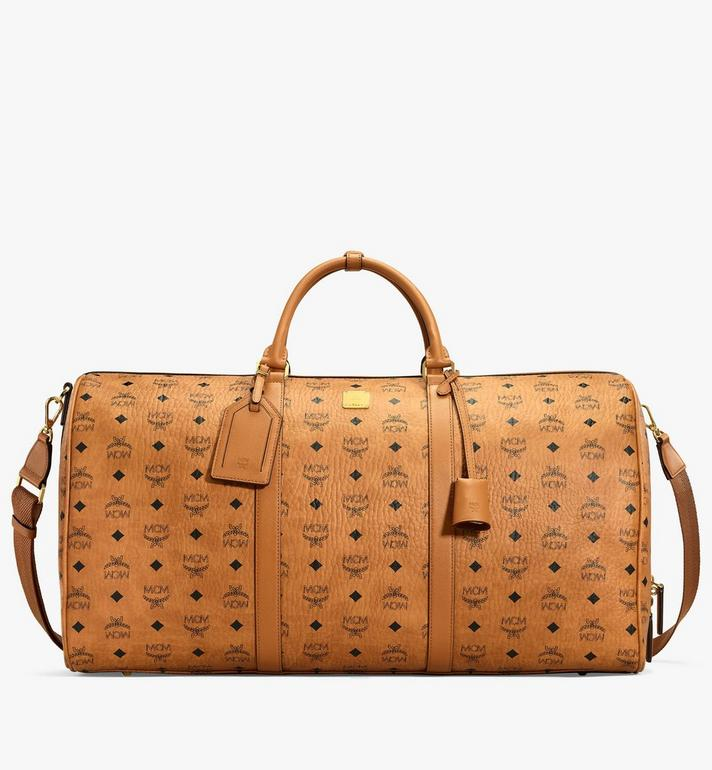 MCM Sac week-end Traveler en Visetos MUV7AVY01CO001 AlternateView