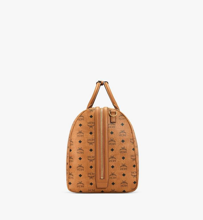 MCM Traveler Weekender in Visetos MUV7AVY01CO001 AlternateView2