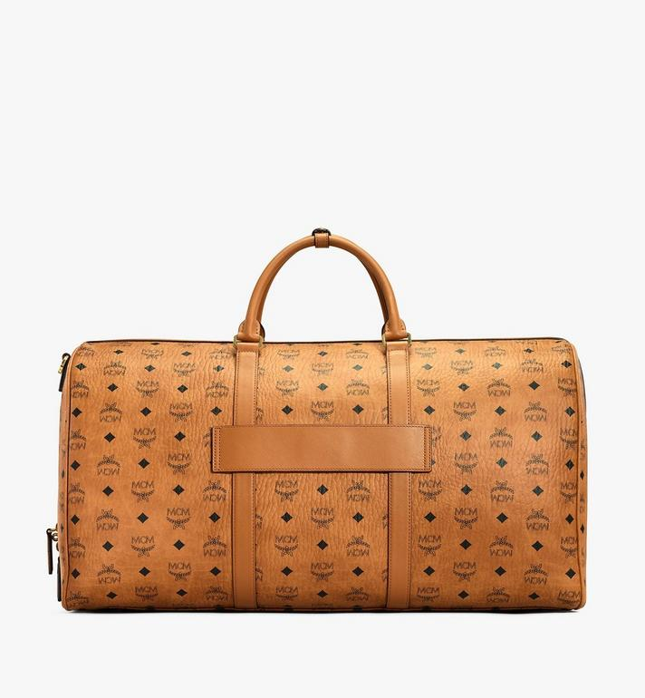 MCM Traveler Weekender-Tasche in Visetos MUV7AVY01CO001 AlternateView4