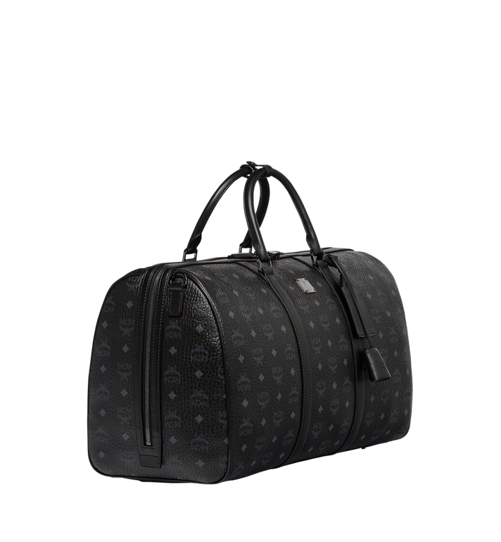 MCM Traveler Weekender in Visetos MUV7AVY02BK001 AlternateView2