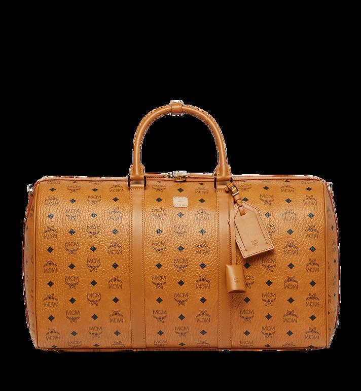 MCM Traveler Weekender-Tasche in Visetos MUV7AVY02CO001 AlternateView
